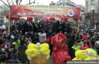 Nouvel an chinois 2013, Paris Belleville (Part 1)