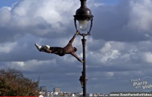 Iya Traoré, Football Freestyle à Montmartre
